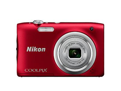 Nikon Coolpix A100 красный от Nikonstore.ru