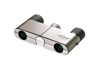 Nikon  Бинокль 4x10DCF Серебристый