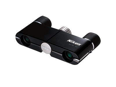 Nikon  Бинокль 4x10DCF Черный