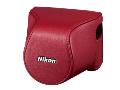 Nikon  Чехол CB-N2200S  для  1 J3/S1 Kit 10-30mm f/3.5-5.6 VR КрасныйЧехлы, кофры<br>Чехол для Nikon1 J3/S1 Kit 10-30mm f/3.5-5.6 VR<br><br>Тип: Чехол для Nikon 1<br>Цвет корпуса: Красный