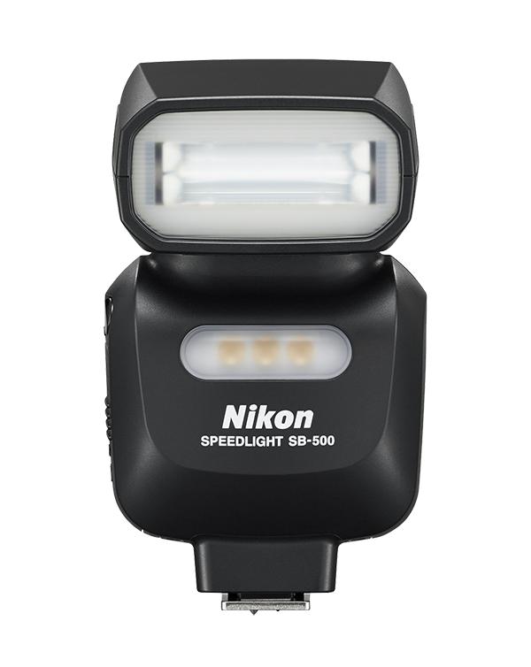 Nikon Вспышка Speedlight SB-500Вспышки для зеркальных фотокамер Nikon<br>Портативная и простая в эксплуатации вспышка Speedlight, совместимая с цифровыми зеркальными фотокамерами Nikon, некоторыми фотокамерами COOLPIX и системой креативного освещения Nikon. Встроенная светодиодная лампа высокой интенсивности идеально подходит для видеосъемки.<br> <br>С помощью этой компактной и легкой вспышки очень просто управлять качеством и направлением света. На передней панели этой вспышки Speedlight компания Nikon впервые установила светодиодную лампу высокой интенсивности, которая идеально подходит для видеосъемки и создания фотографий крупным планом. Вспышка SB-500 совместима с системой креативного освещения Nikon и обеспечивает беспроводное управление несколькими вспышками.<br><br>Влагозащищенность: Нет<br>ВЧ (ISO 100/200): 24/- (100лк)<br>Углы поворота головки: вертикаль-от 0 до 90<br>Поддержка креативной системы освещения: Remote - гр. А или В, канал 3<br>Режимы работы: M, TTL<br>Защита от перегрева: да<br>Длительность импульса (при полной мощности, сек): 1/1100<br>Крепление штатива: Да - через подставку<br>Внешний ЖК-монитор: Нет<br>Углы освещения (фокусное расстояние, мм): 16 (FX - 24)<br>Крепление переходника штатива: Да - через подставку<br>Питание: АА х2<br>Артикул: FSA04201