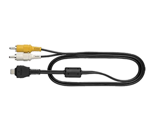 Nikon Аудио/Видео кабель EG-CP15Аксессуары для подключения<br>Этот аудио/видеокабель предназначен для подключения некоторых моделей фотокамер COOLPIX к телевизору, видеомагнитофону, устройству для записи DVD-дисков или записывающему устройству с жестким диском. <br> <br> Предназначен для фотокамер серии: COOLPIX S52, S52c, S60, S610, S610c<br><br>Тип: Аудио/Видео кабель<br>Артикул: VDA00101