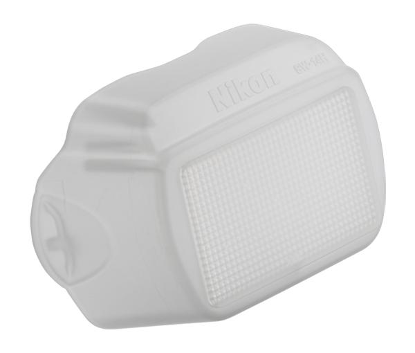 Nikon Рассеивающий колпак SW-14H для SB-700Насадки и фильтры<br>Используется на вспышке для смягчения света и устранения жестких теней. <br><br>Применяется со вспышкой SB-700.<br><br>Тип: Рассеивающий колпак<br>Артикул: FXA10377