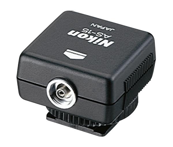 Nikon Переходник для подключения студийного освещения AS-15