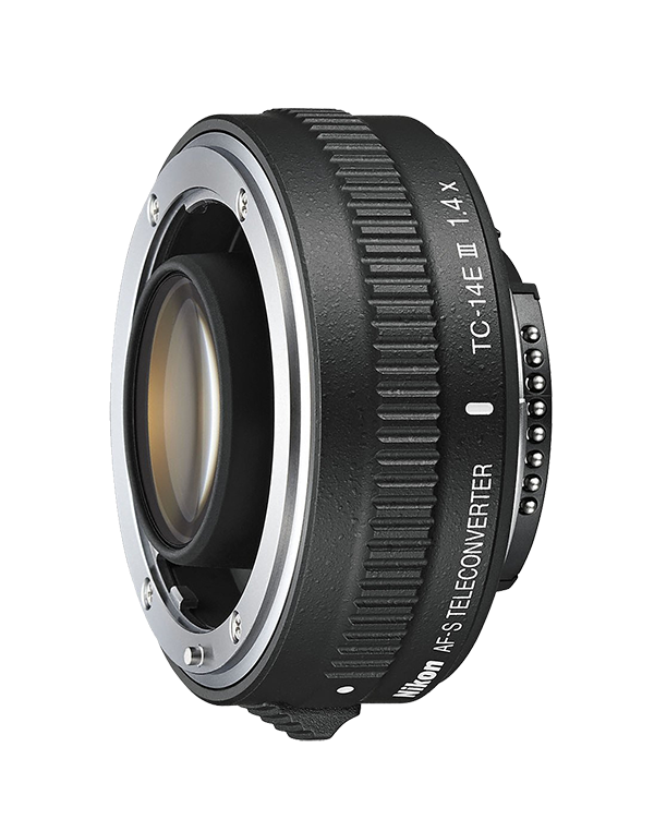 Nikon AF-S TC-14E III TeleconverterТелеконверторы<br>Высокопроизводительный 1,4-кратный телеконвертор. С его помощью фокусное расстояние определенных объективов NIKKOR можно увеличить на 40 %. Это особенно важно для фотографов, которые создают репортажи, занимаются съемкой спортивных мероприятий или дикой природы и хотят получать четкие изображения удаленных объектов.<br> <br> Он прекрасно подходит для использования с зум-объективами и светосильными объективами с фиксированным фокусным расстоянием и обеспечивает превосходное качество изображений с высоким разрешением даже при максимальной диафрагме. Его оптическая конструкция максимально использует производительность объектива и минимизирует хроматическую аберрацию, которая может возникать при использовании телеконвертора. На переднюю и заднюю поверхности телеконвертора нанесено грязе- и влагоотталкивающее фторсодержащее покрытие, а его корпус защищен от непогоды на профессиональном уровне.<br><br>Тип: Телеконвертор<br>Фокусное расстояние: Увеличивает фокусное расстояние в 1,4 раза<br>Максимальная диафрагма: Уменьшает значение диафрагмы объектива на одну ступень (в 2 раза)<br>Минимальная диафрагма: Уменьшает значение диафрагмы объектива на одну ступень (в 2 раза)<br>Подавление вибраций: Нет<br>Конструкция объектива: 7 элементов в 4 группах<br>Угол зрения: Уменьшает угол зрения в 1,4 раза<br>Минимальное расстояние фокусировки: Такое же, как у используемого объектива<br>Установочный размер фильтра: Нет<br>Артикул: JAA925DA