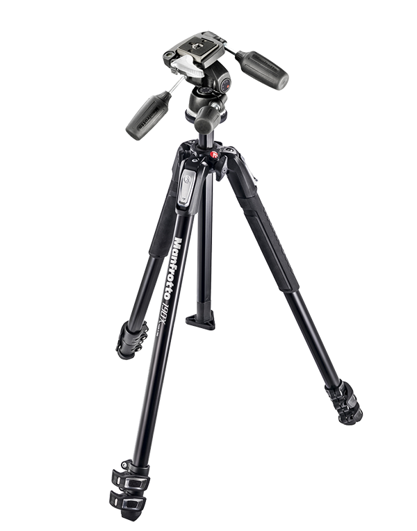 Nikon Manfrotto Штатив MK190X3 + головка 804RC2