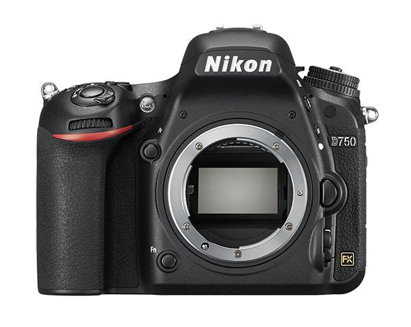 Nikon D750 (без объектива)Профессиональные<br>Раскройте свое видение мира благодаря универсальной модели D750 с гибкими настройками и высокой скоростью съемки. Откройте для себя мир неограниченных возможностей: дерзайте и побеждайте с помощью полнокадровой 24,3-мегапиксельной фотокамеры.<br> <br> Эта фотокамера, сочетающая технологии профессионального уровня и эргономичную компактную конструкцию, не знает препятствий для съемки. <br> <br> Новая конструкция матрицы формата FX обеспечивает исключительное качество изображения и как никогда четкие результаты при больших значениях чувствительности ISO. Феноменально точная автофокусировка, высокая скорость серийной съемки (6,5 кадра в секунду), возможность записи видеороликов в формате Full HD (1080/60p) и наклонный экран предоставляют фотографу полную свободу для творчества. Используйте встроенный модуль Wi-Fi и мгновенно делитесь впечатляющими снимками.<br><br>Тип: Цифровая зеркальная фотокамера<br>Формат матрицы: FX<br>Тип матрицы, размер: КМОП: 35,9 x 24,0 мм<br>Эффективное число пикселей: 24,3 млн<br>Процессор (АЦП): EXPEED 4<br>Чувствительность ISO: 100–12 800 единиц ISO с шагом 1/3 или 1/2 EV. Также можно установить значение приблизительно на 0,3; 0,5; 0,7 или 1 EV (эквивалентно 50 единицам ISO) ниже чувствительности 100 единиц ISO либо значение приблизительно на 0,3; 0,5; 0,7; 1 или 2 EV (эквивалентно 51 200 единицам ISO) выше чувствительности 12 800 единиц ISO<br>Автофокусировка: Advanced Multi-CAM 3500 II с определением фазы TTL, точной настройкой, 51 точкой фокусировки (включая 15 датчиков перекрестного типа; 11 датчиков поддерживают светосилу f/8)<br>Режим зоны автофокуса: Одноточечная АФ; 9-, 21- или 51-точечная динамическая АФ, 3D-слежение, групповая АФ, автоматический выбор зоны АФ<br>Выдержка синхронизации: 1/200 с; синхронизация с затвором при выдержке 1/250 с или длиннее<br>Режимы съемки: S (покадровый), CL (непрерывный низкоскоростной), CH (непрерывный высокоскоростной), Q (тихий спуск затвора), автоспу