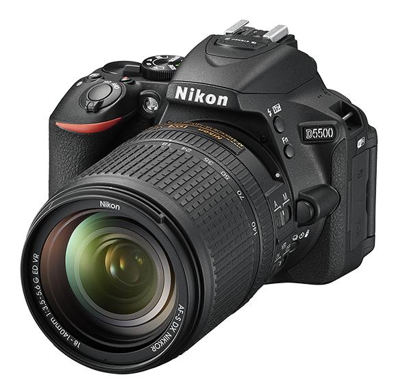 Nikon D5500 Kit AF-S DX 18-140mm f/3.5-5.6G ED VR черный