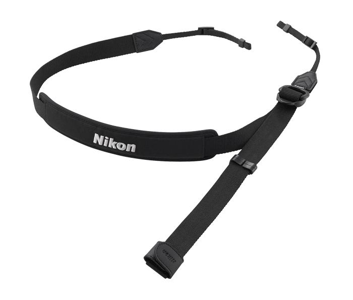Nikon Ремень водонепроницаемый AN-N3000Для фотокамер Nikon 1<br>Водонепроницаемый ремень для фотокамер Nikon 1 AW. Надежный способ держать фотокамеру под рукой, чтобы в любой момент сделать снимок. Благодаря фиксатору ремень можно легко отсоединить или отрегулировать по длине.<br><br>Тип: Ремень для фотокамеры<br>Артикул: VJB00011