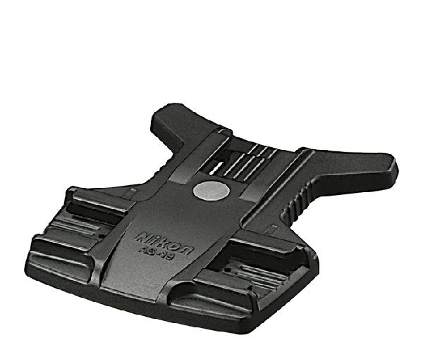 Nikon Подставка для вспышки AS-19 для SB-800Держатели и подставки<br>Подставка для вспышки, работающей в беспроводном ведомом режиме. Также имеет штативное гнездо и может использоваться со всеми вспышками серии Nikon SB (включая также SB-27, но за исключением SB-16A). <br><br>Подставка для вспышки AS-19 применяется со вспышкой SB-800 и SB-600.<br><br>Тип: Подставка для вспышки<br>Артикул: FSW53601