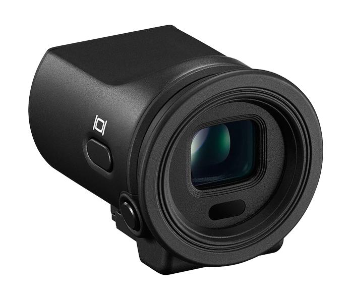 Nikon Электронный видоискатель DF-N1000Для фотокамер Nikon 1<br>Электронный видоискатель с 2359 тыс. точек обеспечивает высококонтрастное изображение с высоким разрешением, показывает важную съемочную информацию и может увеличивать объекты съемки для более точной ручной фокусировки. Покрытие кадра приблизительно 100%, высокая частота кадров и минимальная задержка DF-N1000 позволяет вам компоновать кадр с невероятной точностью, даже при съемке быстро движущихся объектов и при ярком солнце.<br><br>Тип: Электронный видоискатель<br>Артикул: VVW01101