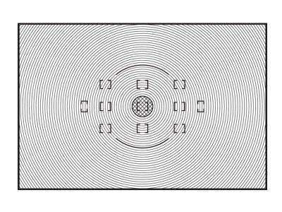 Nikon Сменный фокусировочный экран J для F6