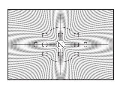 Nikon Сменный фокусировочный экран L для F6