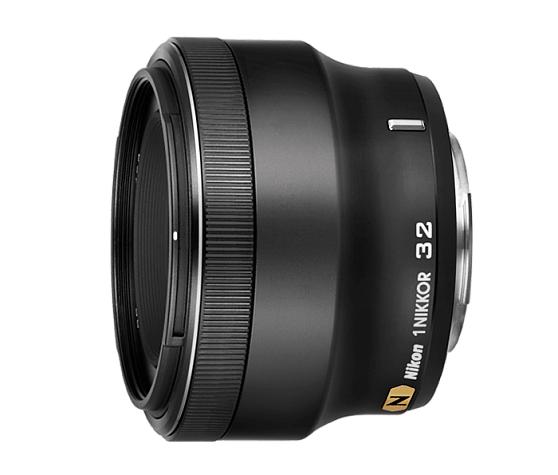 Nikon 1 NIKKOR 32mm f/1.2 черный