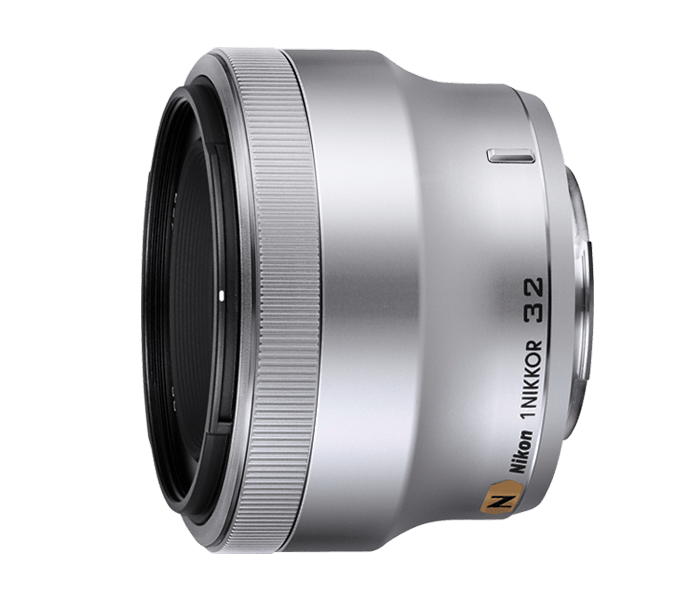 Nikon 1 NIKKOR 32mm f/1.2 серебристый