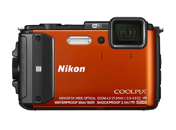 Nikon COOLPIX AW130Серия All Weather<br>Вы ведете активный образ жизни и мечтаете о фотокамере, которая работает при любой погоде? 16-мегапиксельная фотокамера COOLPIX AW130 обладает такими свойствами, как водонепроницаемость на глубине до 30 м (так глубоко ныряют дайверы, имеющие серти...<br><br>Тип: Компактная цифровая фотокамера<br>Формат матрицы: 1/2,3 дюйма<br>Тип матрицы, размер: КМОП: прибл. 6,2 x 4,6 мм<br>Эффективное число пикселей: 16 млн<br>Процессор (АЦП): EXPEED C2<br>Автофокусировка: АФ с функцией определения контраста<br>Режим зоны автофокуса: Приоритет лица, ручной выбор с 99 зонами фокусировки, по центру, ведение объекта, АФ с обнаружением объекта<br>Выдержка синхронизации: До 1/1500 (электронный затвор)<br>Режимы съемки: «Покадровая» (настройка по умолчанию), «Непрерывная В» (частота кадров при непрерывной съемке: прибл. 7 кадров в секунду, максимальное количество кадров, снимаемых непрерывно: прибл. 5), «Непрерывная Н» (частота кадров при непрерывной съемке: прибл. 2,2 кадра в секунду, максимальное количество кадров, снимаемых непрерывно: прибл. 10), «Буфер предварительной съемки» (частота кадров при непрерывной съемке: 15,1 кадров в секунду, максимальное количество кадров, снимаемых непрерывно: 25, в том числе максимум 5 кадров, хранящихся в буфере предварительной съемки), «Непрерывная В: 120 кадров/с» (частота кадров при непрерывной съемке: прибл. 120 кадров в секунду, максимальное количество кадров, снимаемых непрерывно: 50), «Непрерывная В: 60 кадров/с» (частота кадров при непрерывной съемке: прибл. 60 кадров в секунду, максимальное количество кадров, снимаемых непрерывно: 25), BSS («Выбор лучшего снимка»), «Мультикадр 16»<br>Контроль экспозиции: «Простой авто режим», «Сюжет» («Портрет», «Пейзаж», «Интервальное видео», «Спорт», «Ночной портрет», «Праздник/в помещении», «Пляж», «Снег», «Закат», «Сумерки/рассвет», «Ночной пейзаж», «Макро», «Еда», «Фейерверк», «Освещение сзади», «Простая панорама», «Портрет питомца», «Под водой»), «Специальные эф