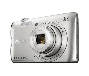 Nikon COOLPIX A300 серебристый