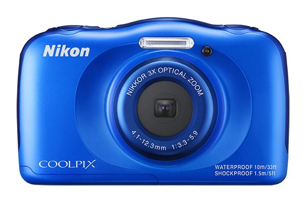 Nikon COOLPIX S33 с рюкзаком синий