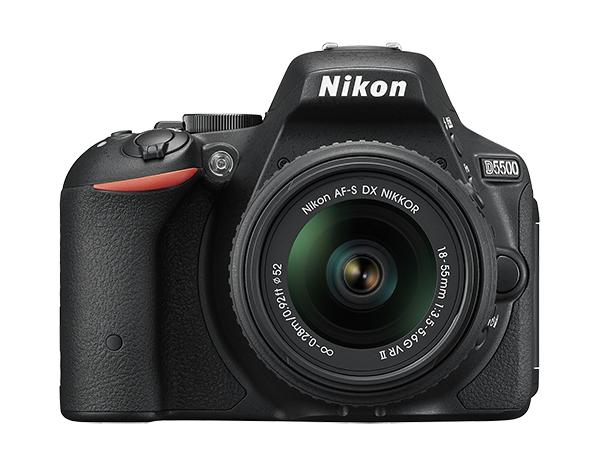 Nikon D5500 Kit AF-S DX 18-55mm f/3.5-5.6G VR II чёрный