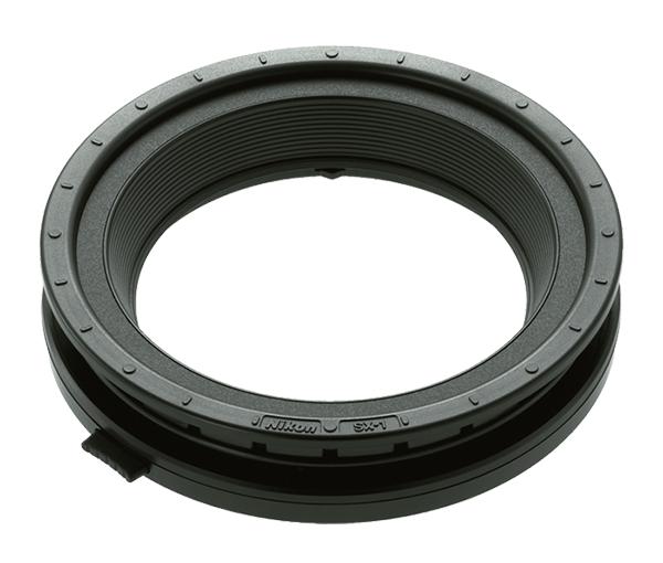 Nikon Установочное кольцо SX-1Насадки и фильтры<br>Кольцо SX-1 используется для фиксации вспышки SB-R200 при установке ее на переходное кольцо (SY-1-52, SY-1-62, SY-1-67, SY-1-72, SY-1-77) в передней части объектива. <br><br>Вспышка SB-R200 устанавливается в любое положение по окружности присоединительного кольца. Можно свободно перемещать вспышку SB-R200 вокруг кольца. Присоединительное кольцо имеет положения, фиксируемые со щелчком через каждые 15°. <br><br>Применяется с набором вспышек Kit R1 и с управляющим комплектом Kit R1C1.<br><br>Тип: Переходное кольцо<br>Артикул: FXA10354