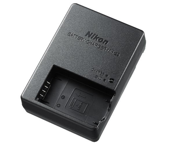 Nikon Зарядное устройство MH-29Питание фотокамер<br>Зарядное устройство, предназначенное для зарядки литий-ионных аккумуляторных батарей EN-EL22 и EN-EL20a.<br><br>Тип: Быстрое зарядное устройство<br>Артикул: VEA021EA