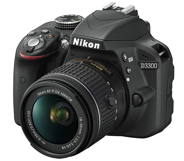 Nikon D3300 Kit AF-P DX 18-55mm f/3.5-5.6G VR