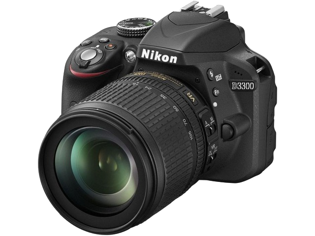 Nikon D3300 Kit AF-S DX 18-105mm f/3.5-5.6G ED VR