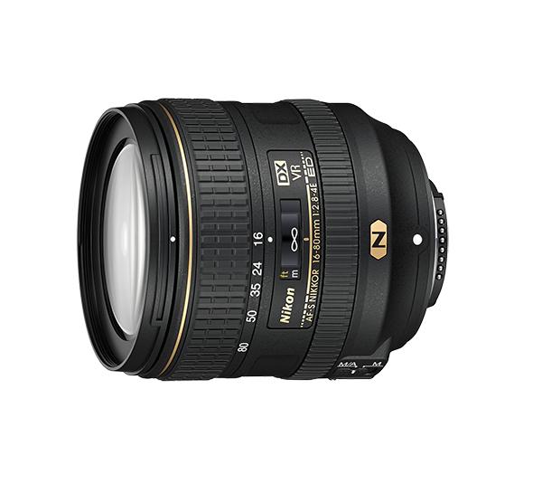 Nikon AF-S DX NIKKOR 16-80mm f/2.8-4E ED VR от Nikonstore.ru