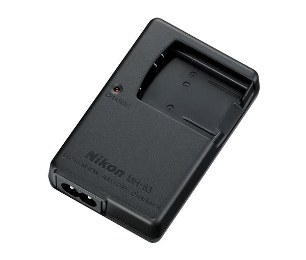 Nikon Зарядное устройство MH-63(E)Питание фотокамер<br>Это устройство предназначено для зарядки литий-ионных аккумуляторных батарей EN-EL10 для фотокамер COOLPIX. <br><br>Применяется для фотокамер: COOLPIX S60, COOLPIX S200, COOLPIX S210, COOLPIX S220, COOLPIX S230, COOLPIX S500, COOLPIX S510, COOLPIX S520, COOLPIX S600, COOLPIX S700, COOLPIX S570<br><br>Тип: Быстрое зарядное устройство<br>Артикул: VEA002EA