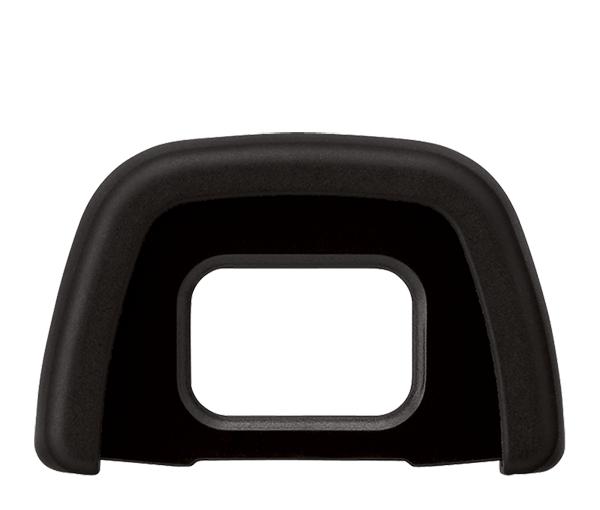 Nikon Резиновый наглазник DK-23Аксессуары для визирования<br>Повышает удобство съемки и предотвращает попадание постороннего света в видоискатель и снижение контрастности. <br><br>Резиновый наглазник DK-23 предназначен для фотокамер серии D300, D300S, D7100, D7200<br><br>Тип: Резиновый наглазник<br>Артикул: VBW10001