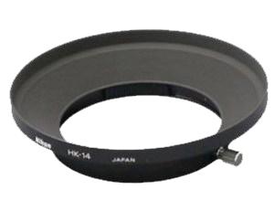 """Nikon Бленда для объектива HK-14Бленды<br>Бленда значительно ослабляет постороннюю засветку, уменьшая блики и устраняя """"раздвоенность"""" изображения. Она также служит для защиты объектива. <br> <br> Предназначена для объектива: 20MM F2.8 AI NIKKOR<br><br>Тип: Бленда для объектива<br>Артикул: JAB61301"""