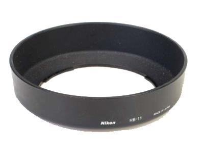 """Nikon Бленда для объектива HB-11Бленды<br>Бленда значительно ослабляет постороннюю засветку, уменьшая блики и устраняя """"раздвоенность"""" изображения. Она также служит для защиты объектива. <br> <br> Подходит для объектива AF NIKKOR 24-120mm f3.5-5.6D IF<br><br>Тип: Бленда для объектива<br>Артикул: JAB71101"""
