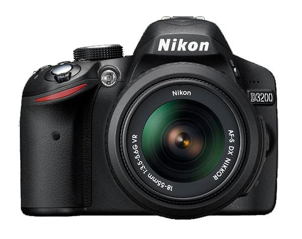 Nikon D3200 Kit AF-S DX 18-55mm f/3.5-5.6G VR II