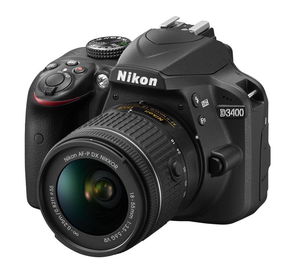 Nikon D3400 Kit AF-P DX 18-55mm f/3.5-5.6G VR