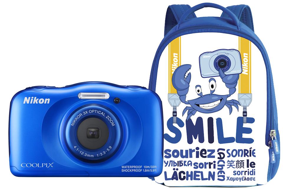 Nikon COOLPIX W100 с рюкзаком (синий) от Nikonstore.ru