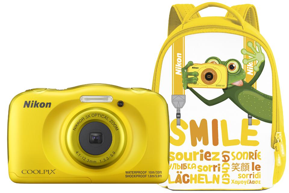 Nikon COOLPIX W100 с рюкзаком (жёлтый) от Nikonstore.ru