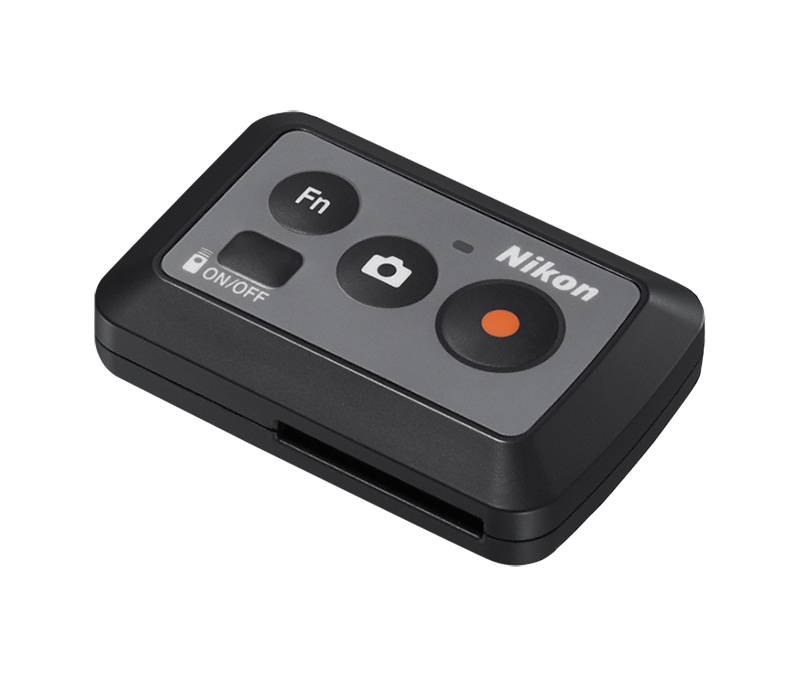 Nikon Дистанционное управление ML-L6Для экшн-камер<br>Снимайте самые важные моменты, не прикасаясь к камере KeyMission. Позволяет управлять простым нажатием кнопок даже в перчатках. В комплект входит литиевая батарея 3В CR2032.<br><br>Тип: Аксессуар для KeyMission<br>Артикул: VAJ57102