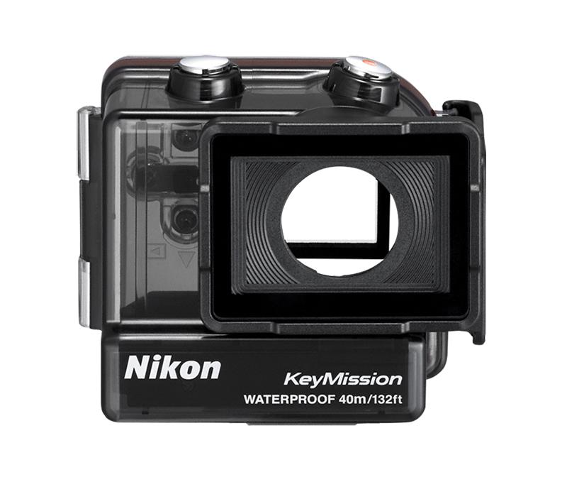 Nikon Водонепроницаемый чехол WP-AA1Для экшн-камер<br>В этом водонепроницаемом чехле экшн-камера Nikon может снимать на глубине до 40 метров?. Для использования с определенными моделями фотокамер KeyMission. В этом чехле предусмотрен отсек для дополнительной батареи. Батарея в камере и батарея в чехле работают последовательно: когда разряжается одна, начинает работать следующая. Зачем прерывать погружение только потому, что разрядилась батарея?<br> <br> ? Водонепроницаемый чехол WP-AA1 соответствует стандарту водонепроницаемости JIS/IEC, класс 8 (IPX8). Вода не попадет внутрь водонепроницаемого чехла под водой на глубине до 40 м в течение 30 минут.<br><br>Тип: Аксессуар для KeyMission<br>Артикул: VHW00401