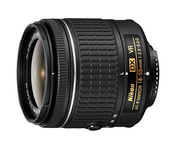 Nikon AF-P DX NIKKOR 18-55mm f/3.5–5.6G VRСтандартные<br>Это превосходный универсальный объектив, охватывающий фокусные расстояния от широкоугольной до обычной съемки. Вы всегда сможете запечатлеть любые объекты, от городских пейзажей до семейных мероприятий и динамичных видеороликов HD. Что бы вы ни снимали, разработанная Nikon система подавления вибраций обеспечивает четкость изображений даже в условиях недостаточного освещения. Усовершенствованная конструкция делает этот объектив компактным и удобным для переноски. <br> <br> Этот объектив совместим с фотокамерами начиная с D3300, D5200 и D7100, а также D500.<br><br>Тип: Зум-объектив<br>Фокусное расстояние: 18-55 мм (27-83 мм в формате DX)<br>Максимальная диафрагма: 3,5-5,6<br>Минимальная диафрагма: 22-38<br>Подавление вибраций: Да (оптическая)<br>Конструкция объектива: 12 элементов в 9 группах (включая 2 асферические линзы)<br>Угол зрения: DX: 76°–28°50<br>Минимальное расстояние фокусировки: 0,25 м<br>Количество лепестков диафрагмы: 7<br>Установочный размер фильтра: 55 мм<br>Артикул: JAA826DA
