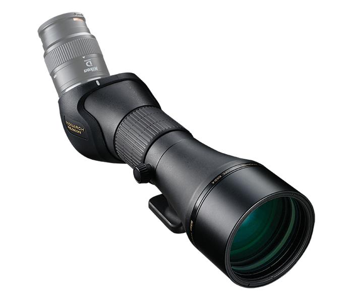Nikon Зрит. труба MONARCH 82ED-AЗрительные трубы<br>Наблюдаете ли вы за птицами или наслаждаетесь красотами природы, улучшенная апохроматическая оптическая система со сверхнизкодисперсным стеклом устраняет цветной контур и обеспечивает исключительно четкое изображение. Система исправления кривизны поля обеспечивает постоянную резкость по всему полю зрения.<br> Оптимизированная система фокусировки обеспечивает две скорости в одном кольце фокусировки — плавную настройку для удаленных объектов и более грубую для объектов вблизи — точное управление при помощи естественных движений руки.<br> Зрительная труба MONARCH идеально подходит для любой деятельности на свежем воздухе — она водонепроницаема, защищена от запотевания, прочна и надежна в любую погоду.<br><br>Тип: Зрительная труба MONARCH<br>Минимальное расстояние фокусировки: 5 м<br>Установочный размер фильтра: 86 (P = 1)<br>Диаметр объектива (мм): 82<br>Влагозащищенность: Корпус зрительной трубы: Водонепроницаемость и защита от запотевания (до 1 м в течение 10 минут, заполнение азотом)<br>Артикул: BDA151WA