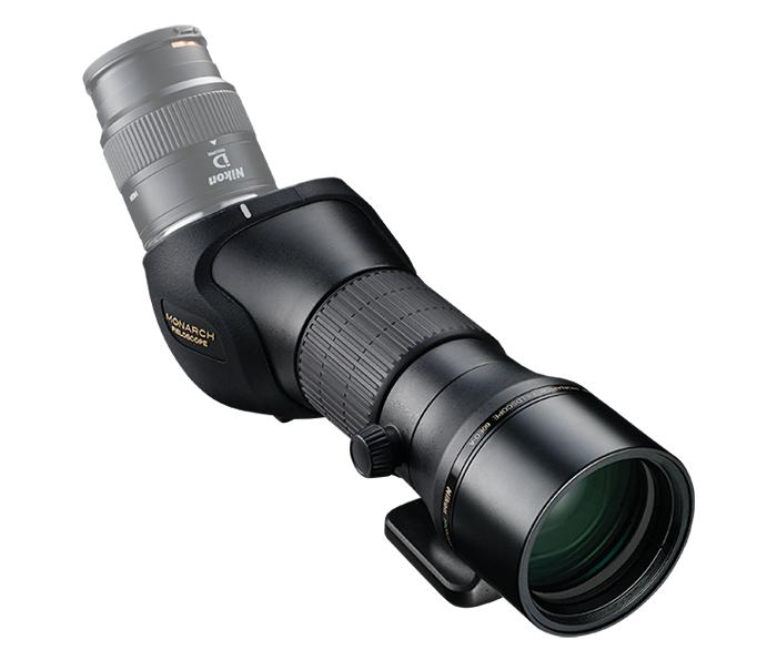 Nikon Зрит. труба MONARCH 60ED-AЗрительные трубы<br>Наблюдаете ли вы за птицами или наслаждаетесь красотами природы, улучшенная апохроматическая оптическая система со сверхнизкодисперсным стеклом устраняет цветной контур и обеспечивает исключительно четкое изображение. Система исправления кривизны поля обеспечивает постоянную резкость по всему полю зрения.<br> Оптимизированная система фокусировки обеспечивает две скорости в одном кольце фокусировки — плавную настройку для удаленных объектов и более грубую для объектов вблизи — точное управление при помощи естественных движений руки.<br> Зрительная труба MONARCH идеально подходит для любой деятельности на свежем воздухе — она водонепроницаема, защищена от запотевания, прочна и надежна в любую погоду.<br><br>Тип: Зрительная труба MONARCH<br>Минимальное расстояние фокусировки: 3,3<br>Установочный размер фильтра: 67 (P = 0,75)<br>Диаметр объектива (мм): 60<br>Влагозащищенность: Корпус зрительной трубы: Водонепроницаемость и защита от запотевания (до 1 м в течение 10 минут, заполнение азотом)<br>Артикул: BDA153WA