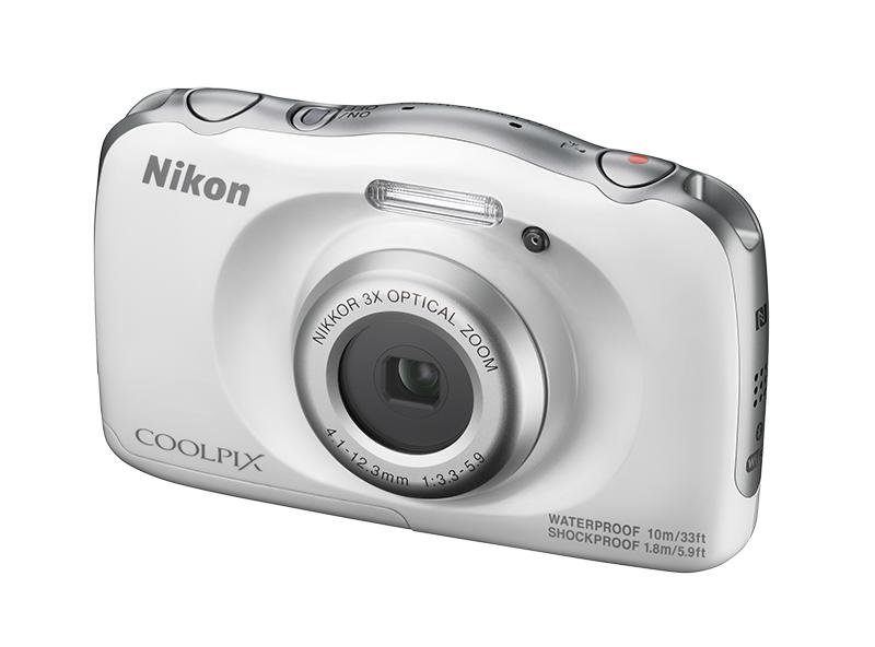 Nikon COOLPIX W100 белый с ремнём-поплавком