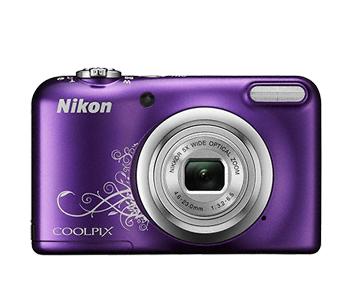 Nikon Coolpix A10 фиолетовый с рисунком