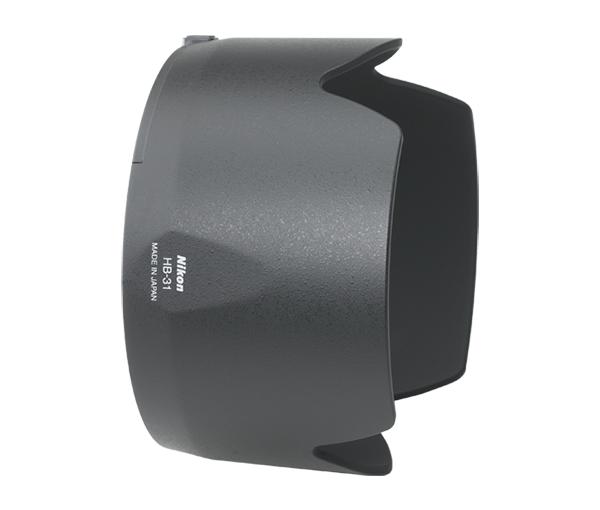 """Nikon Бленда для объектива HB-31Бленды<br>Бленда значительно ослабляет постороннюю засветку, уменьшая блики и устраняя """"раздвоенность"""" изображения. Она также служит для защиты объектива.<br><br> Бленда для объектива AF-S DX Zoom-Nikkor 17-55mm f/2.8G IF-ED<br><br>Тип: Бленда для объектива<br>Артикул: JAB73101"""