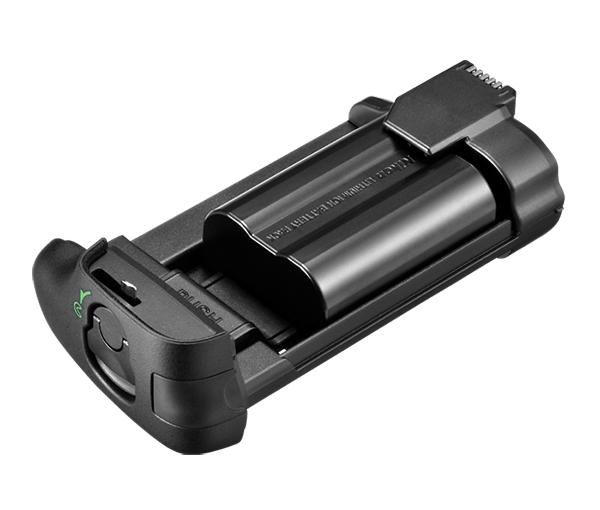 Nikon Держатель для батарей MS-D14ENПитание фотокамер<br>Держатель для установки аккумуляторных батарей EN-EL15 в универсальный батарейный блок MB-D14, MB-D15, MB-D16. Вмещает одну батарею. Батарея в комплекте не идет. <br><br>Совместим с фотокамерами D600, D610, D7100, D7200, D750<br><br>Тип: Держатель для батарей<br>Артикул: VFD10302