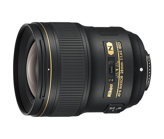 Nikon AF-S NIKKOR 28mm f/1.4E ED фото