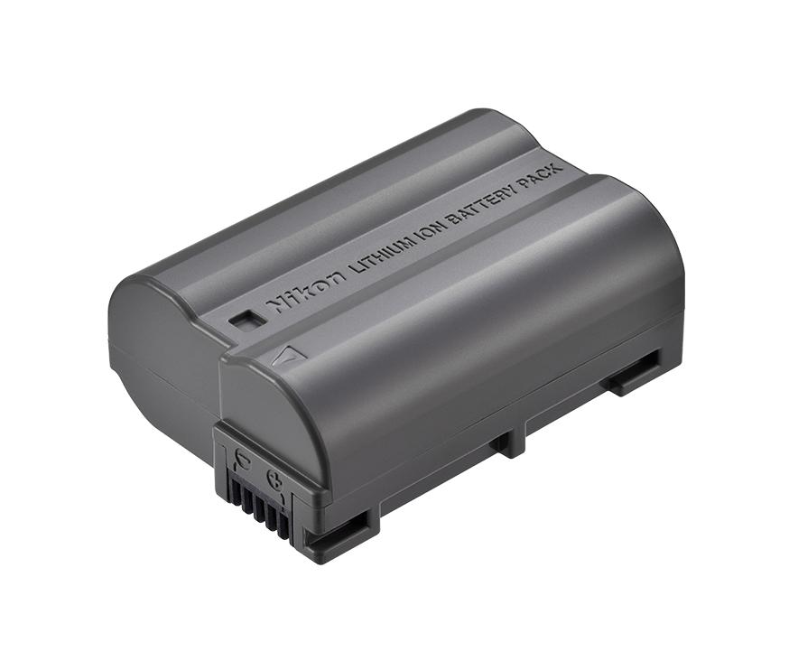 Nikon Батарея EN-EL15aПитание фотокамер<br>Компактная и легкая аккумуляторная батарея. Большая емкость и длительный срок эксплуатации.<br> <br> Тип Li-lon. <br> Емкость 1900 mAh. <br> Номинальное напряжение 7.0 V. <br> Заряжается при помощи зарядного устройства MH-25 / MH-25a.<br> <br> Предназначен для зеркальных фотокамер: D7000, D7100, D7200, D7500, D500, D600, D610, D750, D800, D800E, D810, D810A, D850 и фотокамеры Nikon 1 V1.<br><br>Тип: Литий-ионная аккумуляторная батарея<br>Артикул: VFB12206