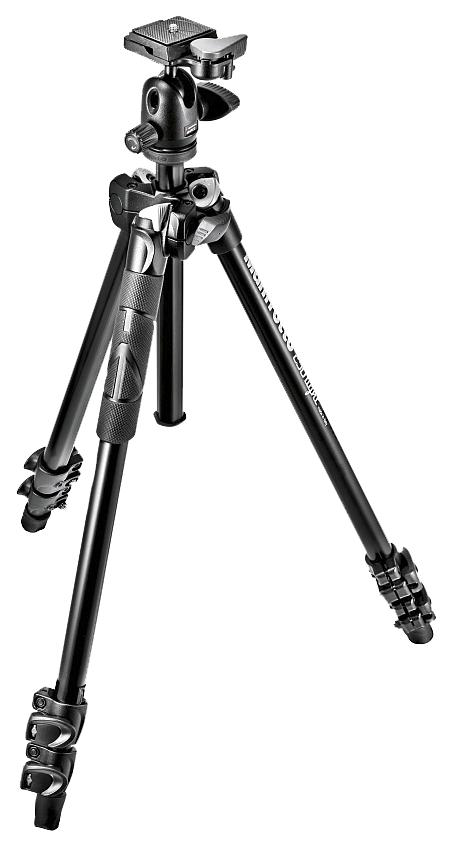 Nikon Штатив Manfrotto MK290LTA3-BH Light для фотокамеры и шаровая головка