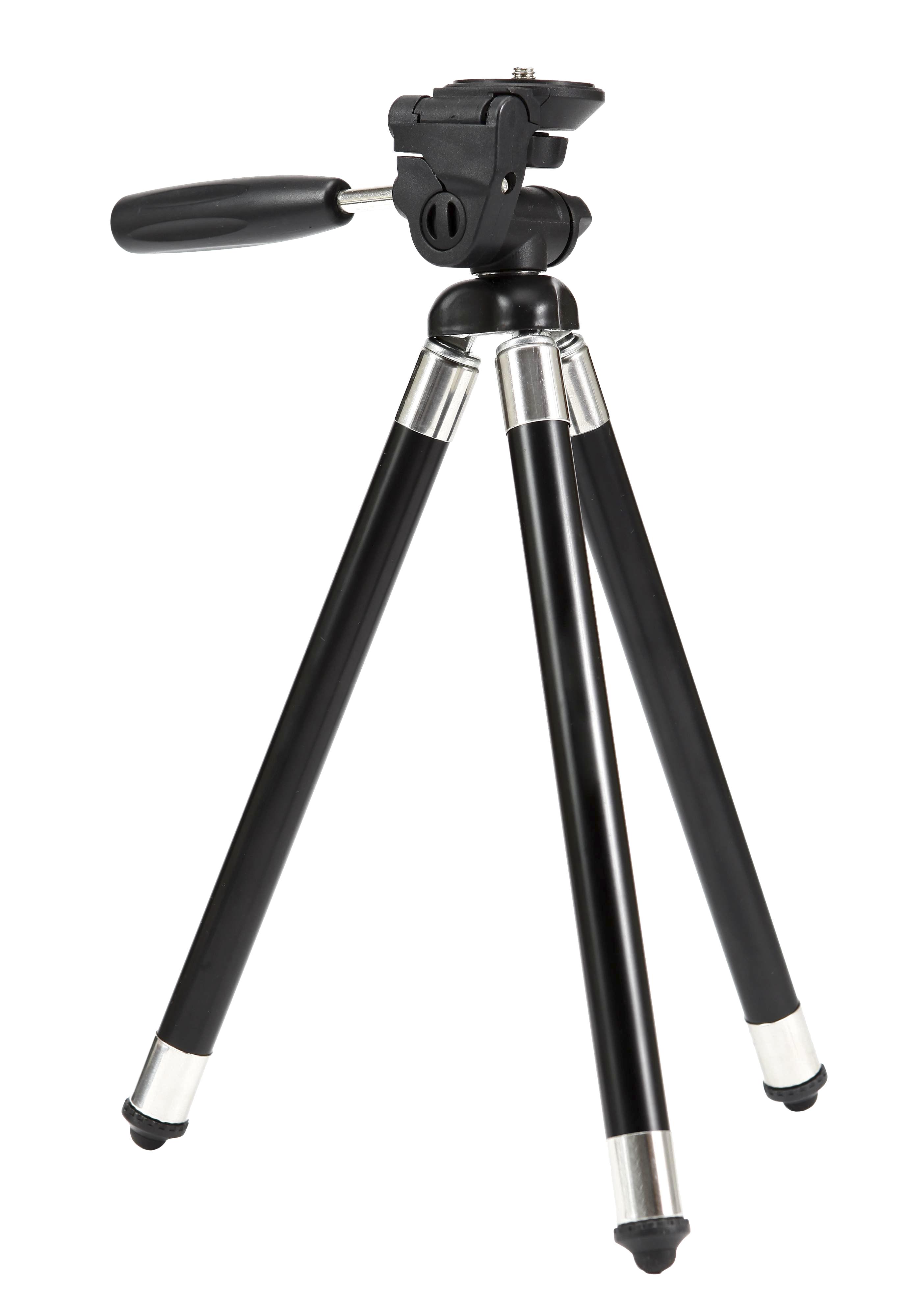 Nikon Походный штатив для компактных камерШтативы<br>Вы хотите получить максимум от своей камеры COOLPIX? <br> В этом вам поможет телескопический металлический штатив, предназначенный как для съемки фотографий, так и для видеосъемки. Простой в использовании, переносной и расширяемый до 103 см. Его длина в сложенном виде всего 29 см, да и весит он всего 390 грамм. <br> Штатив позволяет поворачивать голову на 360 градусов и легко переключать с пейзажа на портрет. Эргономичные рычажные ножные фиксаторы быстро открываются и закрываются. Крепежный винт подходит для всех камер COOLPIX, а также KeyMission 170 и KeyMission 360.