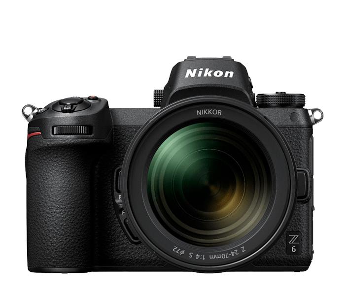 Nikon Фотокамера Z 6 + объектив 24-70/4 SБеззеркальные камеры Nikon Z<br>Максимальная резкость<br> Полнокадровая КМОП-матрица с обратной подсветкой, разрешением 24,5 МП и АФ с определением фазы в фокальной плоскости дает возможность снимать детальные и очень четкие изображения.<br> <br> Сверхсокрость<br> Сверхбыстрый процессор EXPEED 6 для обработки изображений создает изображения с низким уровнем шума и невероятным динамическим диапазоном как при высоких, так и при низких значениях ISO.<br> <br> Байонет Z. Больше света. Больше возможностей. В сочетании с самым широким в мире полнокадровым байонетом универсальная беззеркальная фотокамера Z 6 от Nikon улавливает свет эффективно, как никогда ранее ?.